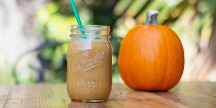 Lipstick And Lunges - Healthy PSL - Healthy Pumpkin Shake
