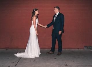 How I planned my Wedding in 5 weeks  |  Winter wedding in McKinney, TX