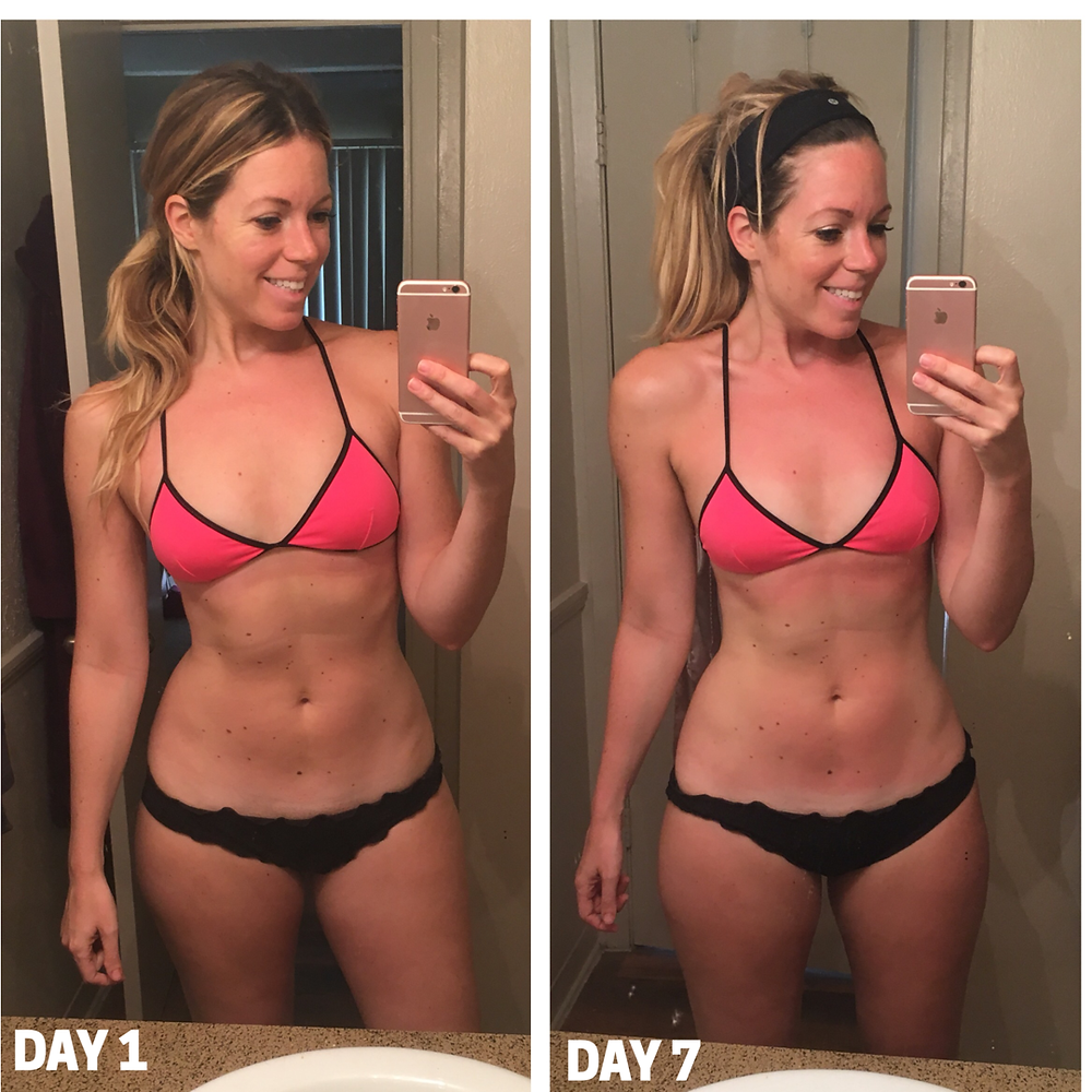 Lipstick and Lunges - Lauren Beley - 80 Day Obsession results