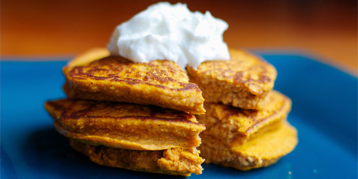 21 Day Fix approved Pumpkin Pancakes