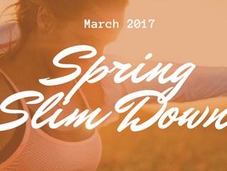 Spring Slim Down Challenge
