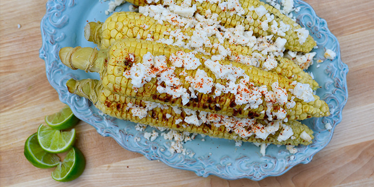 Lipstick And Lunges - Grilled Corn - 21 Day Fix recipes