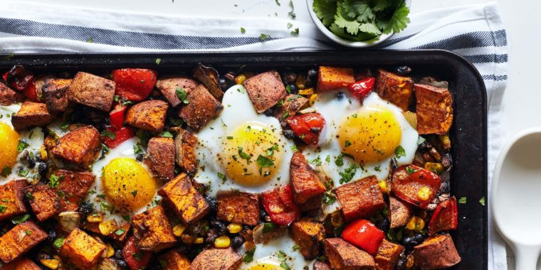 Lipstick And Lunges - Sweet Potato Hash - 21 Day Fix meal plan