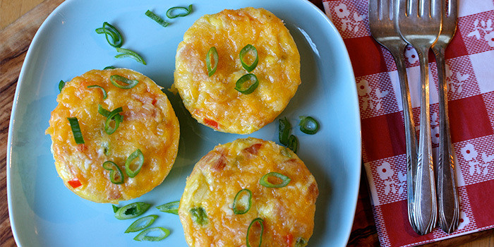 Breakfast Quiches - 21 Day Fix recipe
