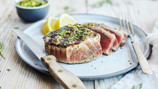 Herb and Garlic Grilled Tuna Steaks