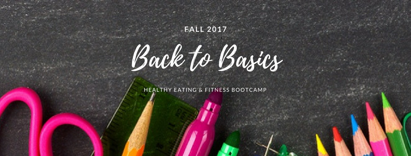 Lipstick and Lunges - Back to Basics Bootcamp - Diet Meal Plans