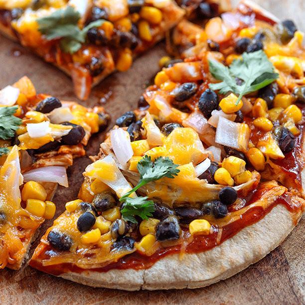 BBQ Chicken Pizza - Healthy Recipe