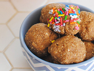 Birthday Cake Energy Balls