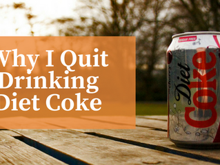 Why I quit drinking Diet Coke