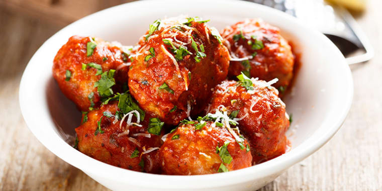 Lipstick And Lunges - 21 Day Fix crock pot recipe - Turkey Meatballs