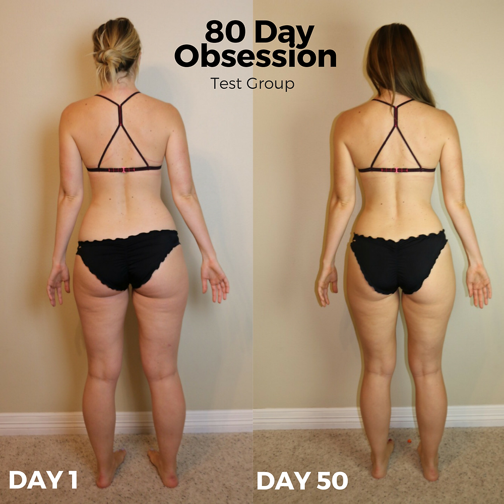 Lipstick And Lunges - 80 Day Obsession - Before and After Results