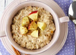 Apple Cinnamon Protein Oatmeal