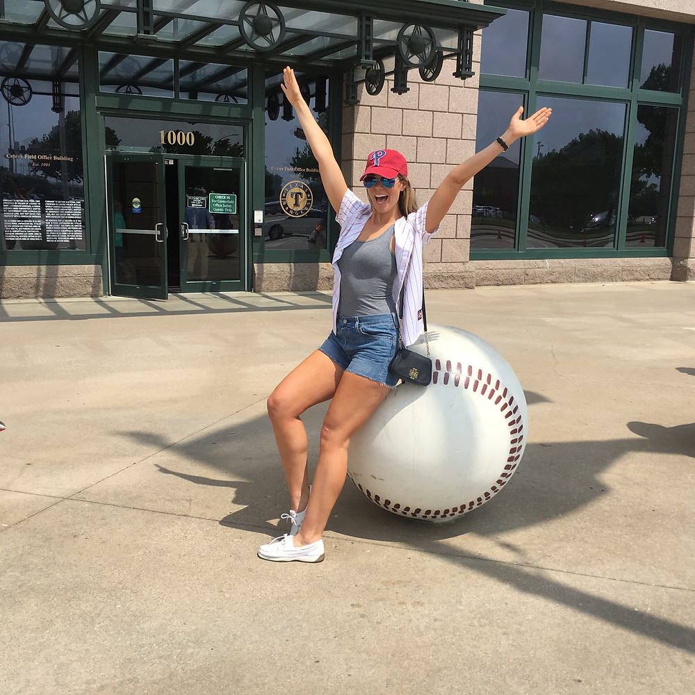 Lipstick And Lunges - Phillies Rangers Game