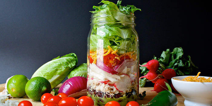 Lipstick And Lunges - Diet Meal Plans - Mason Jar Salad Recipes