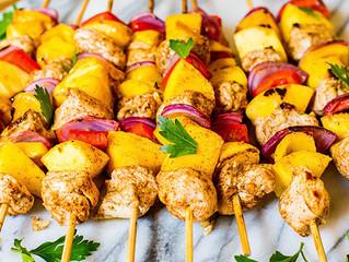 Mango Chicken Skewers