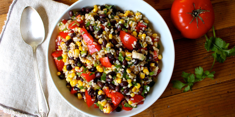 21 Day Fix recipe : Southwestern Rice and Bean Salad