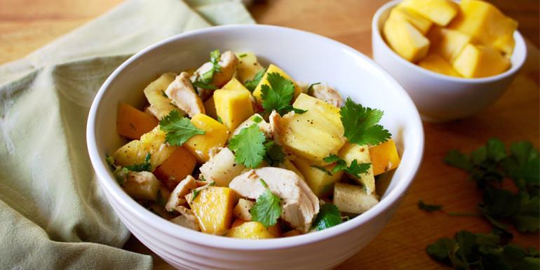 21 Day Fix recipe: Tropical Chicken Salad