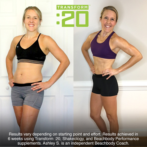 Lipstick and Lunges - Transform20 - Before and After pictures