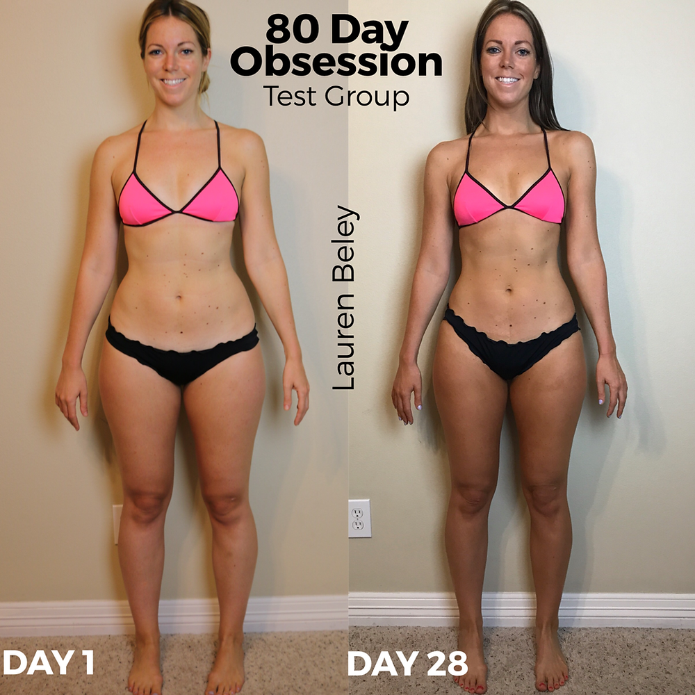 Lipstick And Lunges - 80 Day Obsession - Before and After Pictures