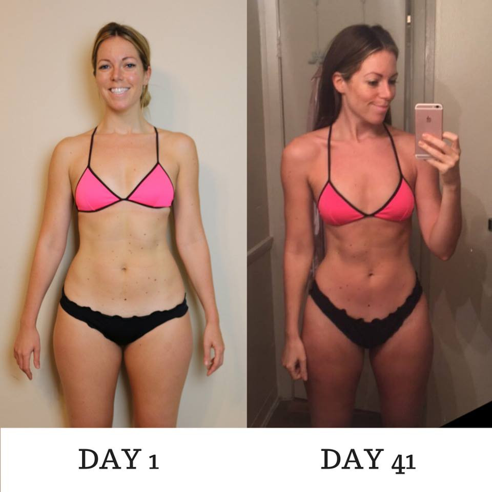 Lipstick And Lunges - 80 Day Obsession - 80 Day Obsession before and after