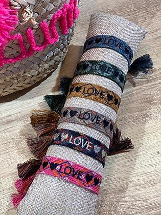 Cotton Armband LOVE