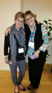 Myself & Ann Sexton from Wisconsin