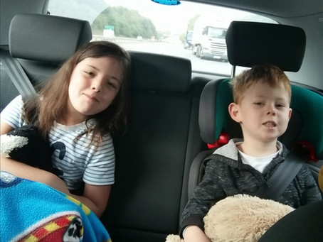 How to survive long car journeys with young children