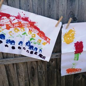 Painting with Sticklebricks