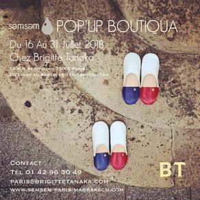 POP'UP boutiquة in Paris