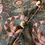 Thumbnail: クッション・フランジュ&キャレ〈サブラ・ストライプ〉