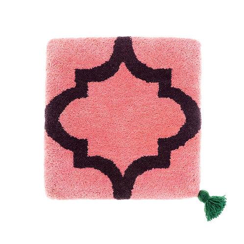 ゼリージュウタン・ボタニカル68 zabouton〈キャトルフイユ/ピンク×紫〉