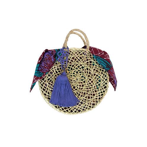 モロッコのマルシェバッグ、スムスムのかごバッグ