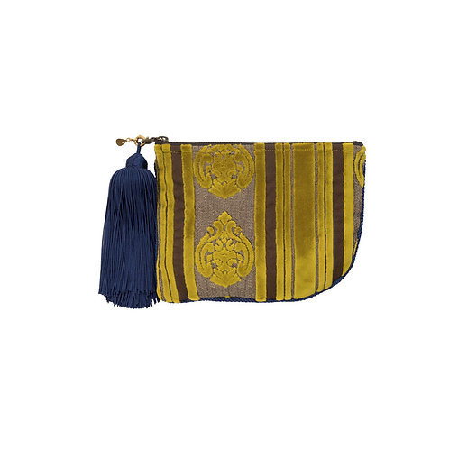 スムスム ブティカ boutiqua  ポシェタ ポーチ モロッコ モロカンファブリック モンブラン