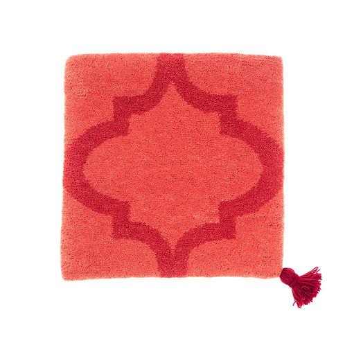 ゼリージュウタン・ボタニカル68 zabouton〈キャトルフイユ/珊瑚×赤〉