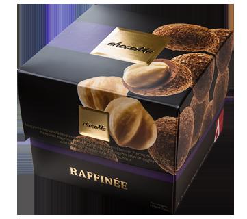 Piemont Haselnüsse überzogen mit Haselnuss-Milchschokolade, die mit Äthiopischem