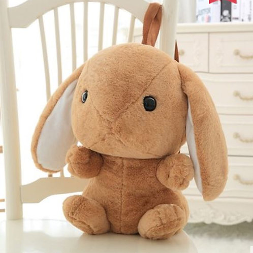 Lop Bun Backpacks with Blankets Inside