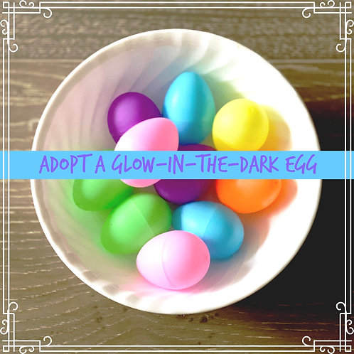 Adopt a Glow-in-the-Dark Egg