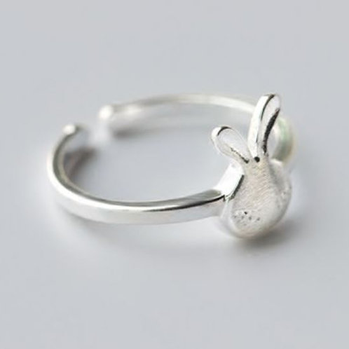 Sterling Sleepy Bun Ring