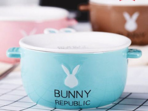 Bunny Republic Soup Bowl & Plate