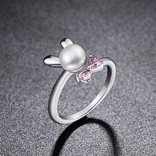 Sterling Fresh Water Pearl Ring