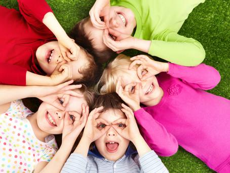 A felicidade em cada criança