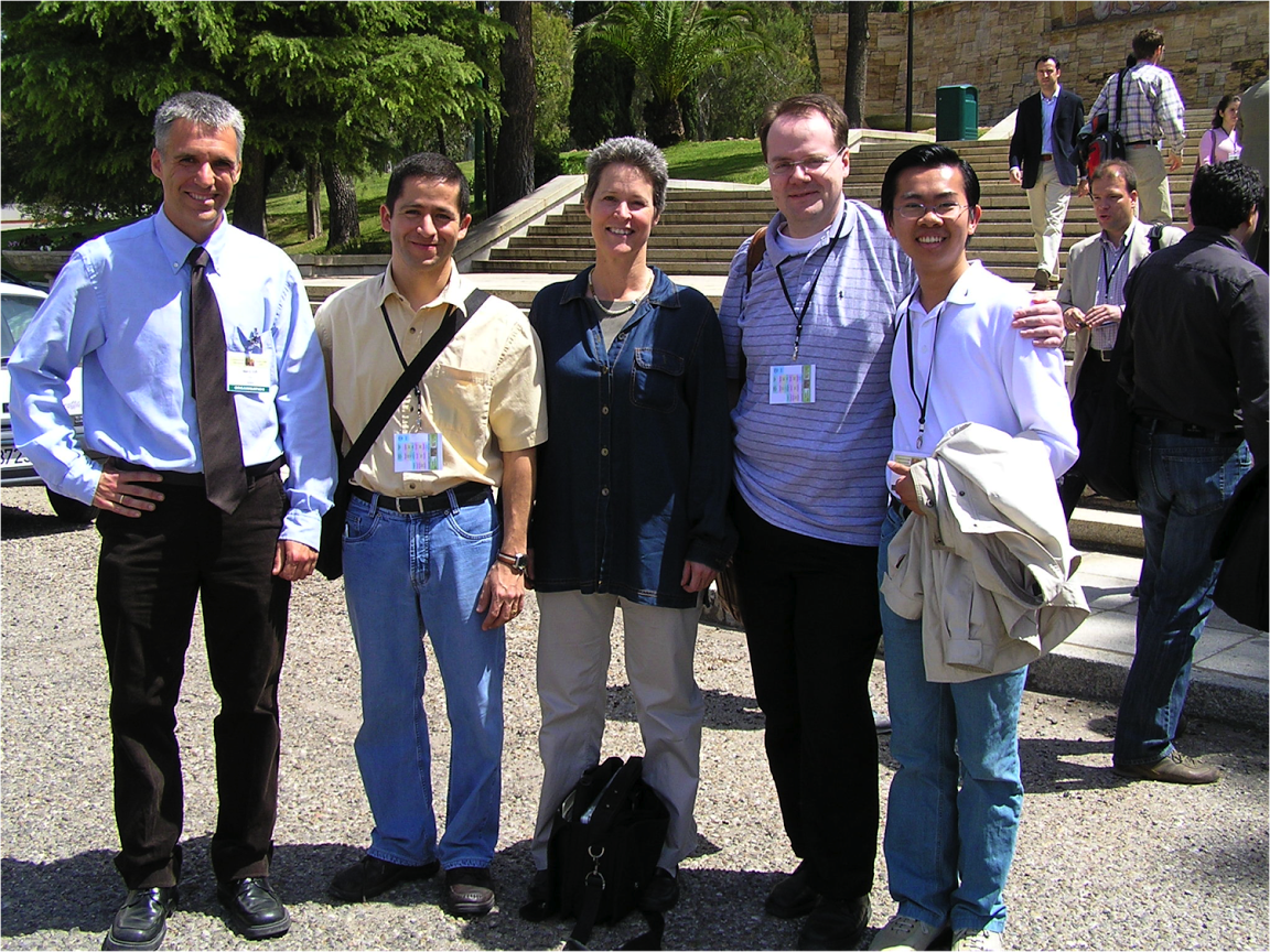 With old Caltech friends (Environmental Biocatalysis Conference, Cordoba 2006)