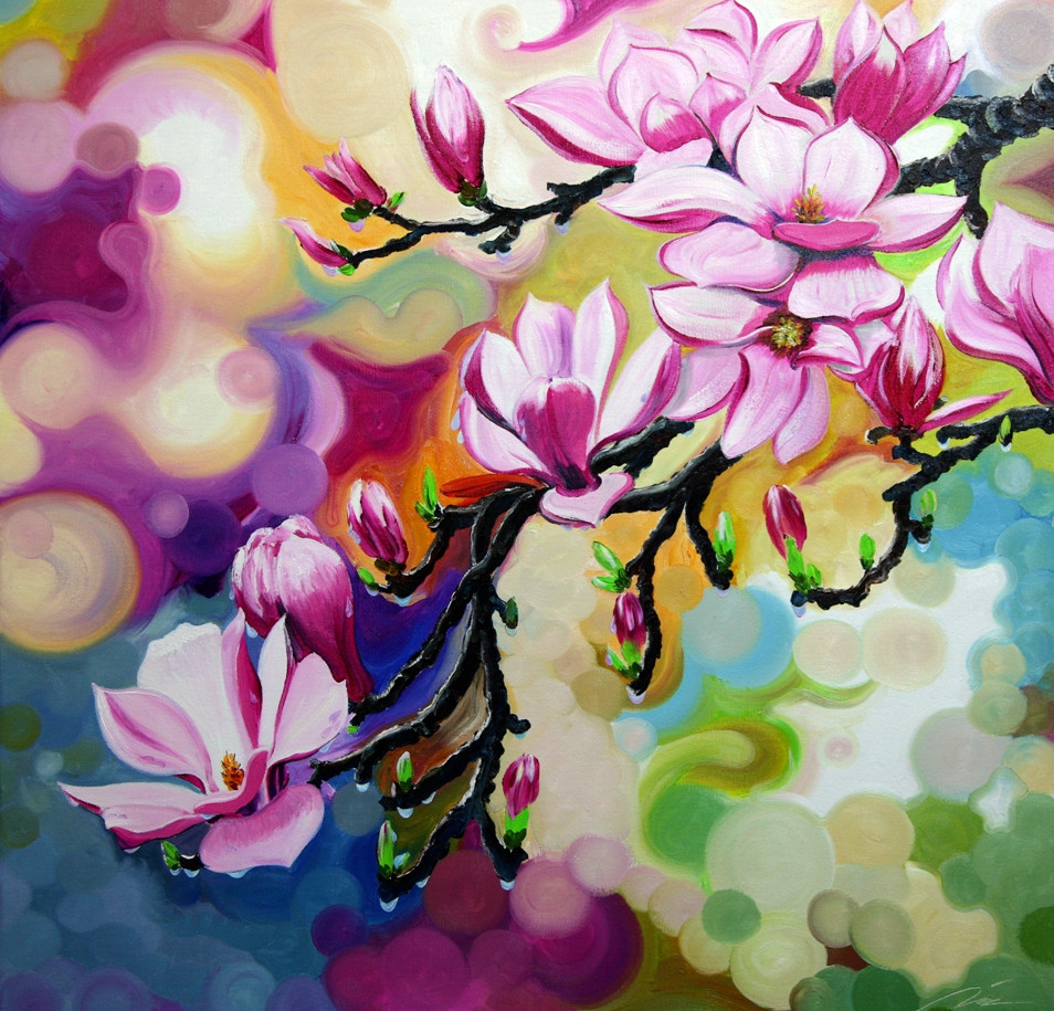 Magnolia · Whirlwind Romance 紫玉兰