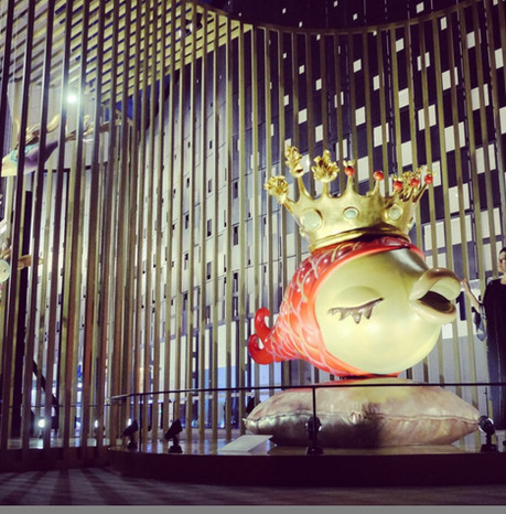 Eternal_Mark(Queen_Fish)in Shopping Mall