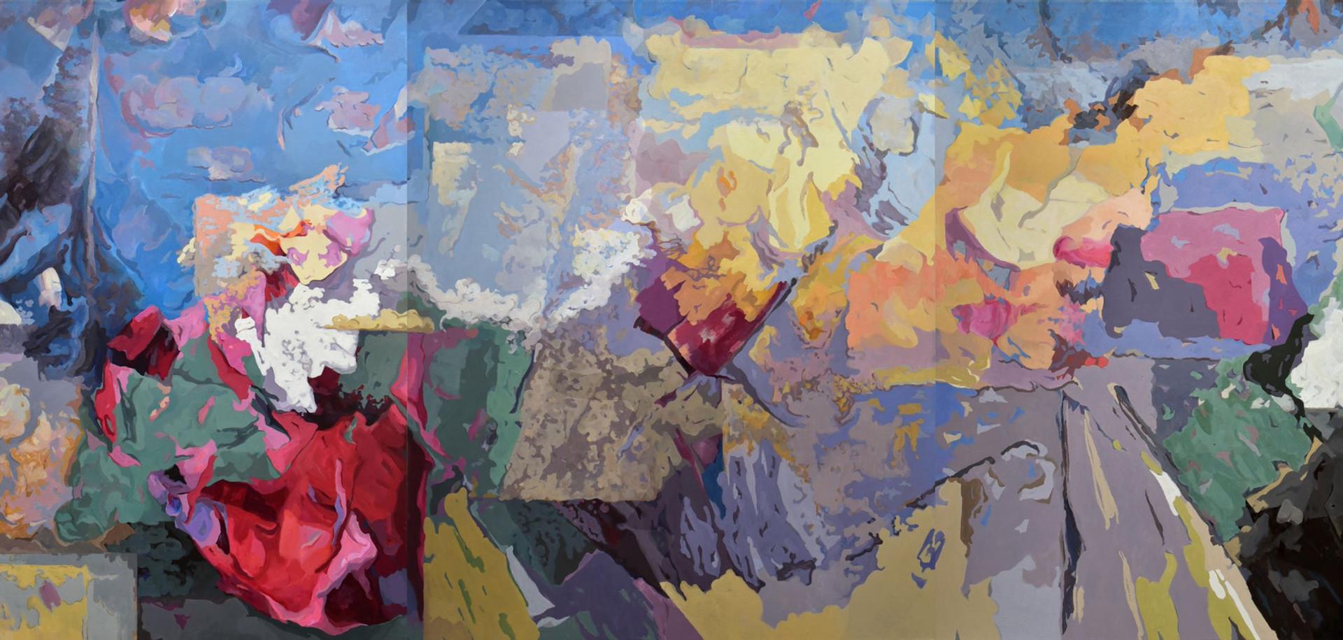 Drifting III, Triptych