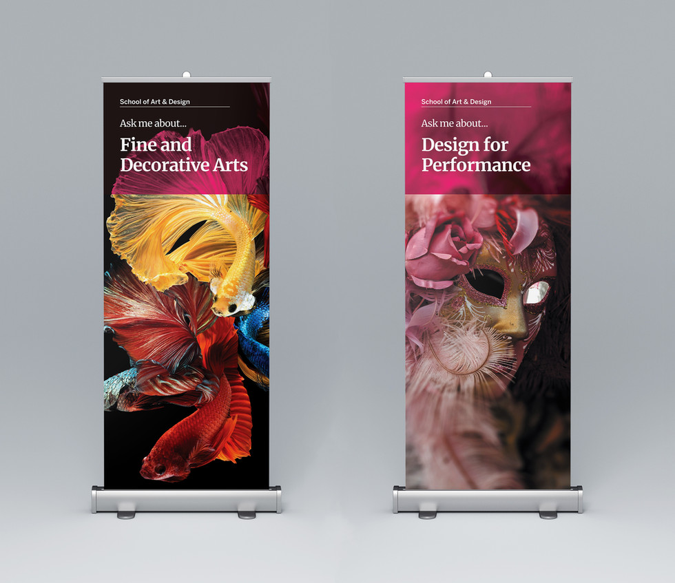 NTU Open Day Banners