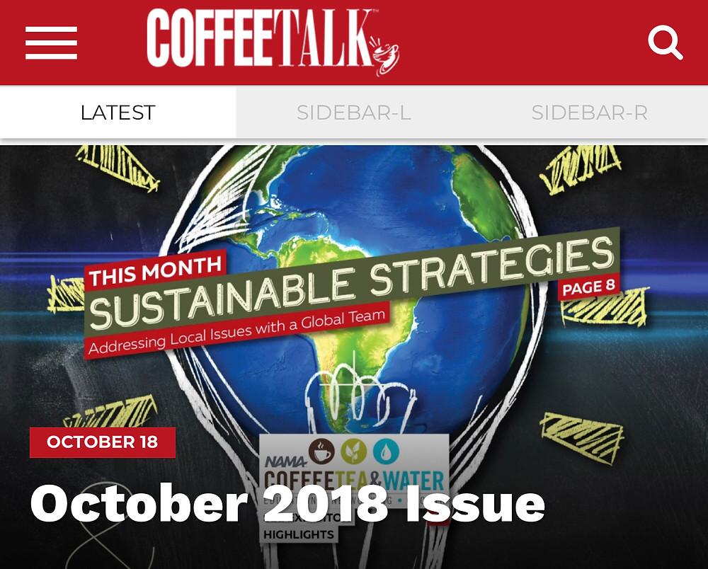 Strother Simpson Coffee Talk Magazine