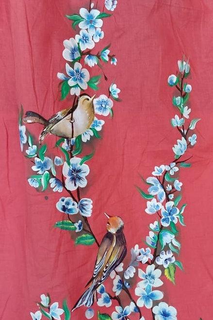 Blossom with Sparrow