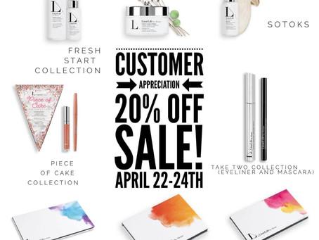 Customer Appreciation!!! SALE!!!!!