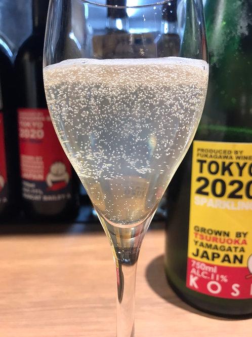 酸化防止剤無添加  甲州スパークリングワイン